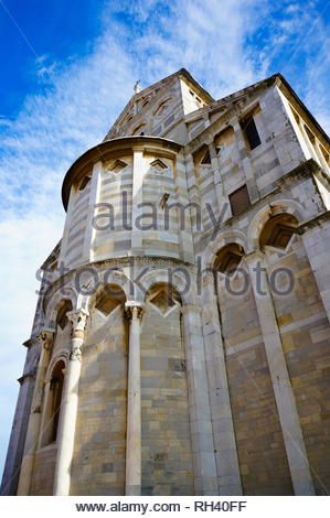 Pisa, Italy - August 21, 2014: Close up of the - Stock Image