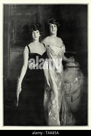 Ena and Betty, Daughters of Asher and Mrs Wertheimer, by John Singer Sargent - Stock Image
