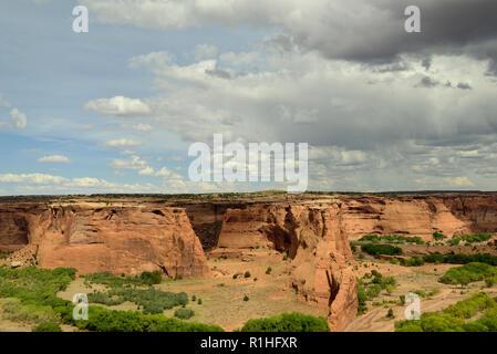 South Rim Drive, Canyon de Chelly National Monument, Chinle, Arizona, USA 180930_69979 - Stock Image