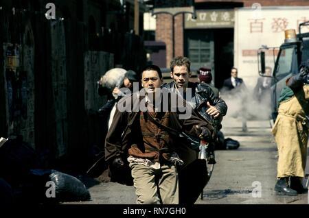 BULLETPROOF MONK, CHOW YUN-FAT , SEANN WILLIAM SCOTT, 2003 - Stock Image