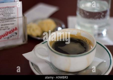 Black coffee - Stock Image