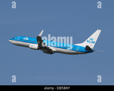PH-BXG KLM Royal Dutch Airlines Boeing 737-8K2(WL) - cn 30357 3 - Stock Image
