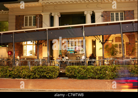 Perrotta's Cafe & Restaurant, Shield Street Cairns - Stock Image