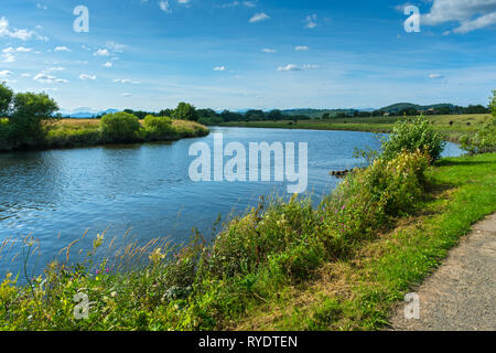 The river Forth at Stirling, Stirlingshire, Scotland, UK - Stock Image