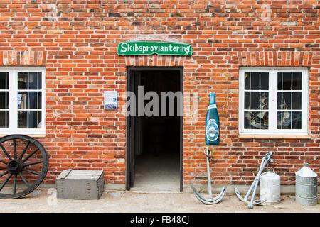 Old ship chandler shop - Stock Image