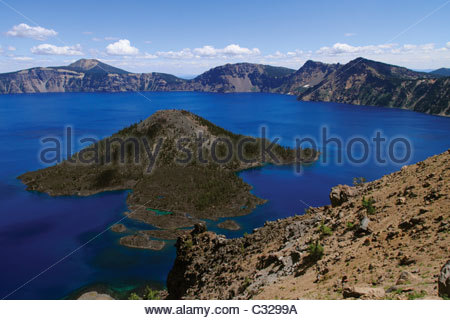 Crater Lake National Park, Oregon, USA. 2010. - Stock Image