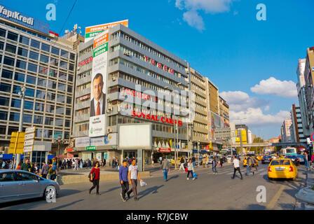 Ziya Gokalp caddesi, Kizilay, Ankara, Turkey, Eurasia - Stock Image