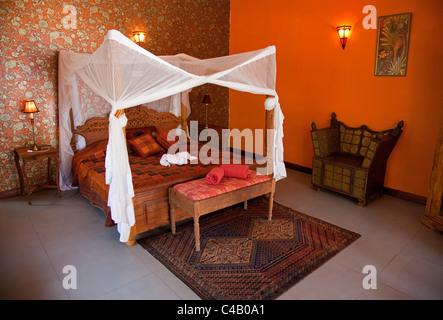 Zanzibar, Echo Beach Resort. A luxury room. - Stock Image