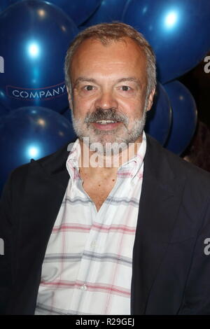 Company - opening VIP night at the Gielgud Theatre, Shaftesbury Avenue, London  Featuring: Graham Norton Where: London, United Kingdom When: 17 Oct 2018 Credit: WENN.com - Stock Image