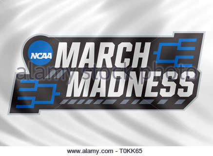 March Madness NCAA logo - Stock Image