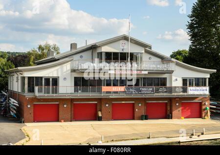 Marlow Rowing Club, Marlow, Buckinghamshire, England, UK. - Stock Image