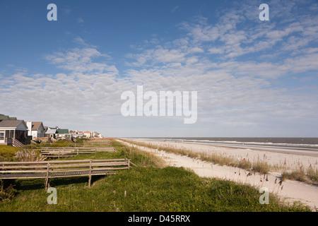 Folly Beach, Charleston County, South Carolina, USA - Stock Image
