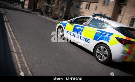 UK police car - Stock Image