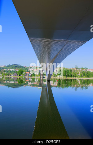 An image from under the bridge. - Stock Image