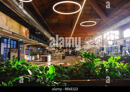 Fico Eataly World main corridor mall - Stock Image