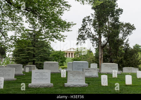 Arlington National Cemetery Washington DC - Stock Image