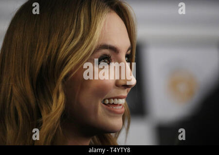 The Royal Television Society Awards (RTS Awards) 2019 held at Grosvenor House Hotel - Arrivals  Featuring: Jodie Comer Where: London, United Kingdom When: 19 Mar 2019 Credit: Lia Toby/WENN.com - Stock Image