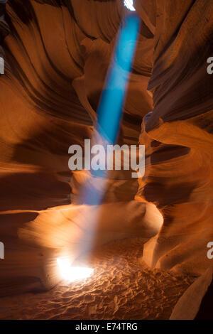 Antelope Canyon, Arizona Southwest America - Stock Image