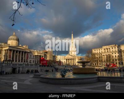 Trafalgar Square - Stock Image