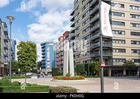Apartments and penthouses, Beaufort Park, Colindale, London Borough of Barnet, Greater London, England, United Kingdom - Stock Image