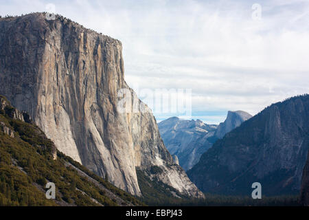 Yosemite Valley, Yosemite National Park, Mariposa County, California, USA - Stock Image
