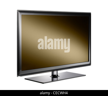 A cut out of a television - Stock Image