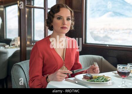 MURDER ON THE ORIENT EXPRESS, DAISY RIDLEY, 2017 - Stock Image