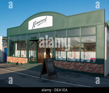 Chichester, West Sussex, UK. 14th Sep, 2013. Goodwood Revival. Goodwood Racing Circuit, West Sussex - Saturday 14th September. A replica vintage Kenwood store part of the retail village inside the circuit. Credit:  MeonStock/Alamy Live News - Stock Image