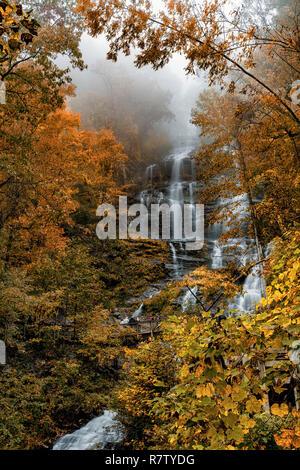 Amicalola Falls - Stock Image