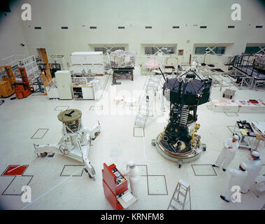 Voyager Proof Test Model and Cleanroom PIA21476 - Stock Image
