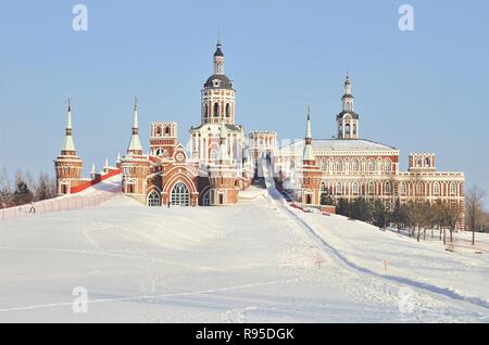 Russian style architecture castle in Volga Manor, Harbin - Stock Image