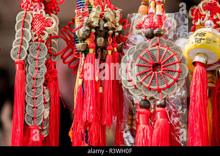 USA, Arizona, Phoenix. Traditional tassels at Chinese Festival. Credit as: Wendy Kaveney / Jaynes Gallery / DanitaDelimont.com - Stock Image