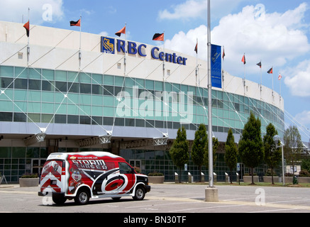 RBC Center in Raleigh, NC. - Stock Image