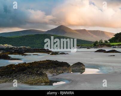 Cappagh Beach near Clockane (An Clochán) in the north of the Dingle Peninsula, County Kerry, Ireland - Stock Image