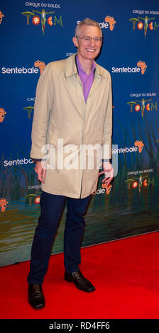 London, United Kingdom. 16 January 2019. Jeremy Vine arrives for the red carpet premiere of Cirque Du Soleil's 'Totem' held at The Royal Albert Hall. Credit: Peter Manning/Alamy Live News - Stock Image