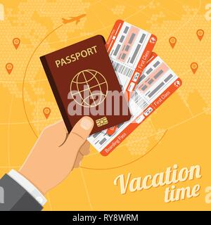 Vacation Travel and Tourism Concept - Stock Image