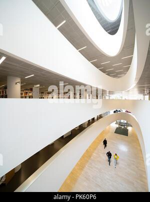 Kaisa House, Helsinki University Main Library, Helsingin yliopiston pääkirjasto, Helsinki Finland - Stock Image