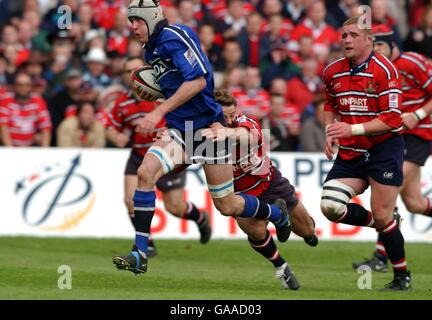 Rugby Union - Parker Pen European Shield - Semi Final - Gloucester v Sale Sharks - Stock Image