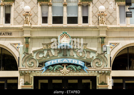 Capitol Theatre - Salt Lake City - Stock Image