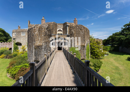 Walmer Castle Official Residence of the Lord Warden of the Cinque Ports - Stock Image