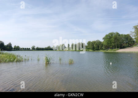 Raadi Lake on Raadi, Tartu, Estonia. - Stock Image