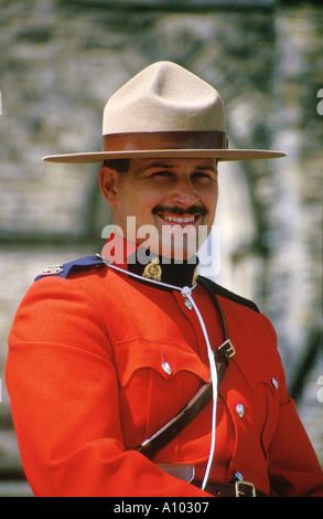 Mountie RCMP Ottawa Canada - Stock Image