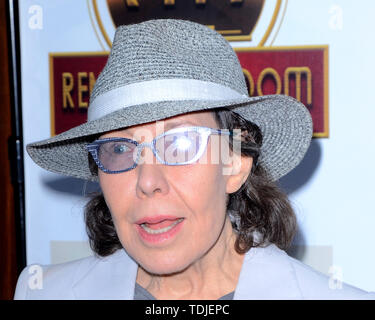 June 13, 2019 - Studio City, CA, USA - LOS ANGELES - JUN 13:  Lily Tomlin at the ''Feinstein's at Vitello's'' VIP Grand Opening at the Vitello's on June 13, 2019 in Studio City, CA (Credit Image: © Kay Blake/ZUMA Wire) - Stock Image