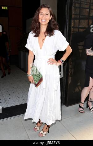 Guests attend the Warner Music and GQ summer party  Featuring: Jasmine Hemsley Where: London, United Kingdom When: 05 Jul 2017 Credit: Phil Lewis/WENN.com - Stock Image