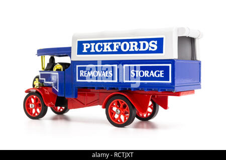 Matchbox Models of Yesteryear Y-27 Foden Steam Wagon 1922 - Stock Image