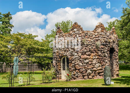 Folly at Woburn Abbey and Gardens, near Woburn, Bedfordshire, England. - Stock Image