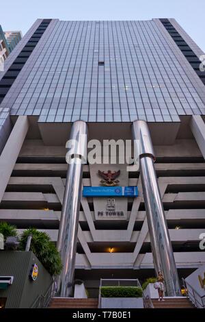 PS Tower, Asok Road, Soi 21, Sukhumvit, Bangkok, Thailand - Stock Image