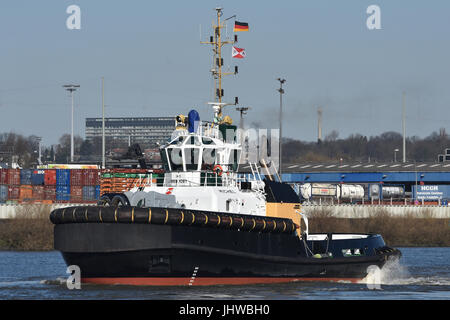 Tugboat Michel - Stock Image