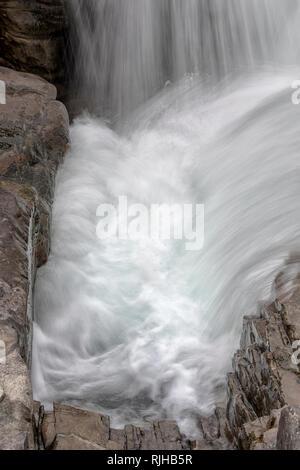 Athabasca Falls - Stock Image
