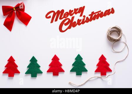 Christmas trees - Stock Image